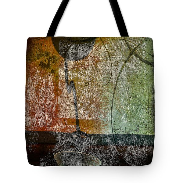 Conversation Decline Tote Bag by Jerry Cordeiro