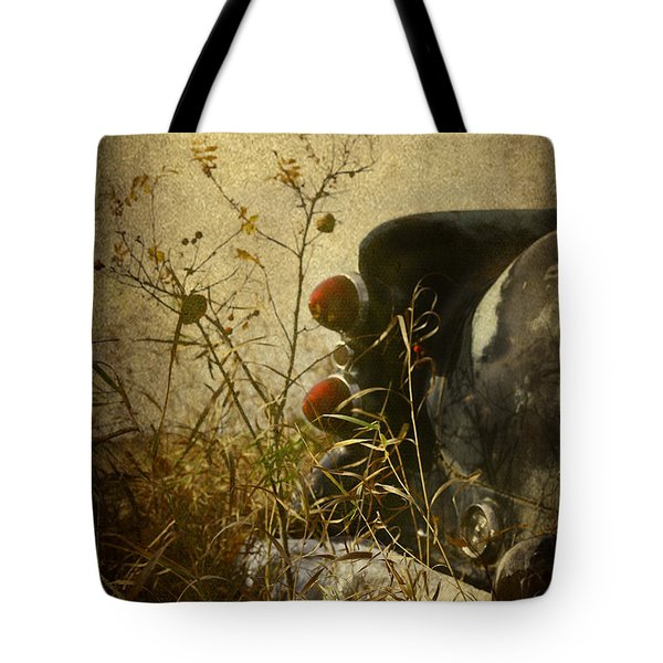 Conversation Dirt Road Tote Bag by Jerry Cordeiro