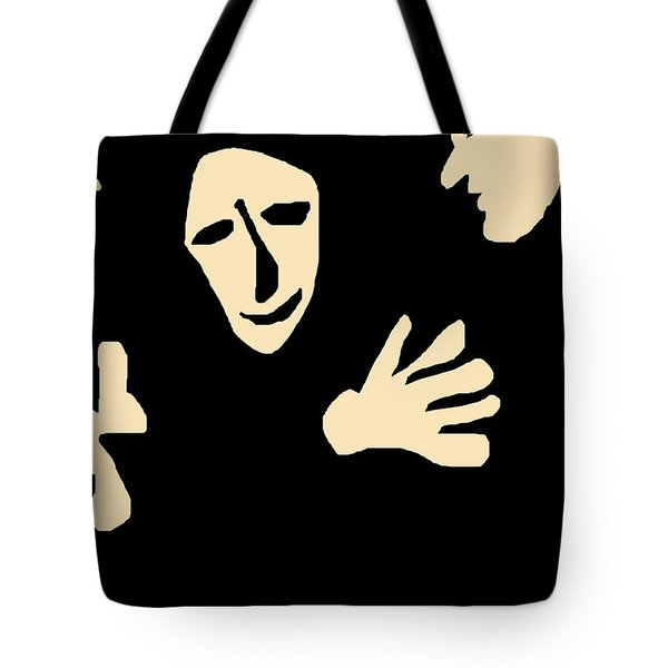 Conversation Tote Bag