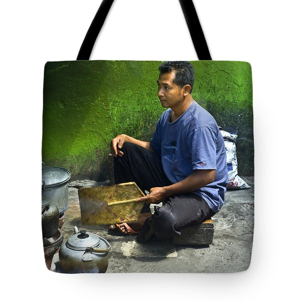 Cooking Tote Bag by Charuhas Images