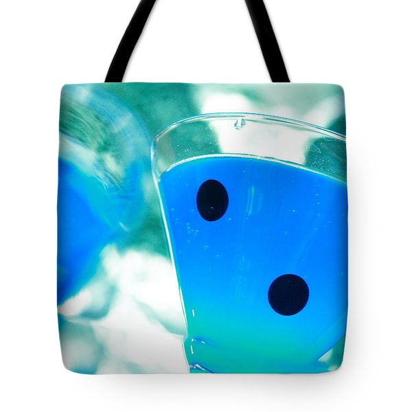 Cool Blue  Tote Bag by Toni Hopper