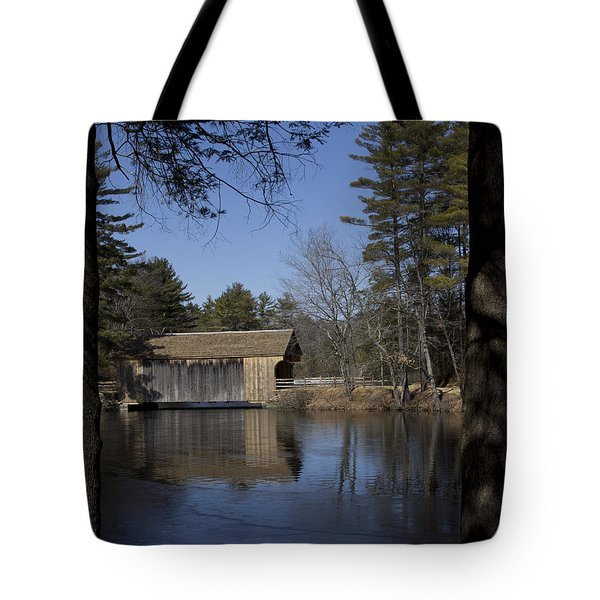 Cool Winter Morning Tote Bag