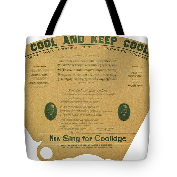 Coolidge: Campaign, 1924 Tote Bag