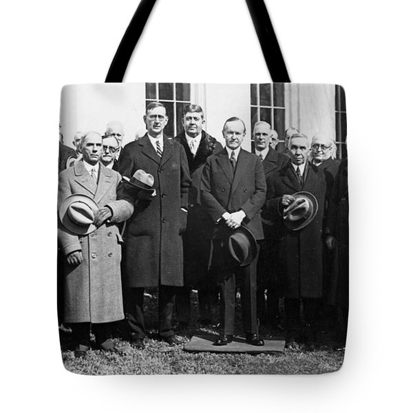 Coolidge: Freemasons, 1929 Tote Bag by Granger