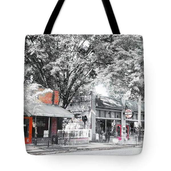 Cooper Young Places Tote Bag