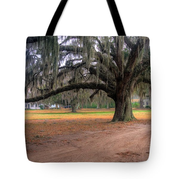 Coosaw Plantation Live Oak Tote Bag