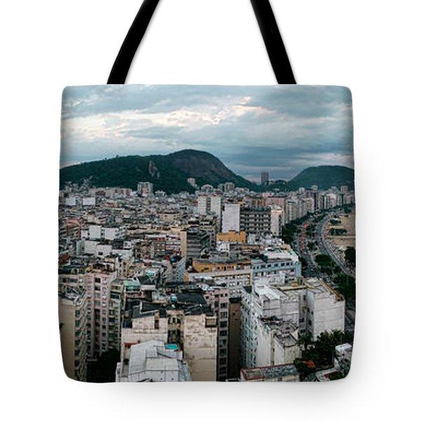 Copacabana Sunset Tote Bag