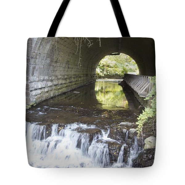 Tote Bag featuring the photograph Corbetts Glen by William Norton