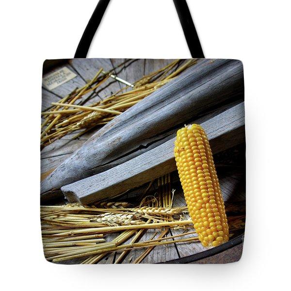 Corn Cob Tote Bag by Carlos Caetano