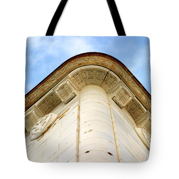 Corner Building Tote Bag