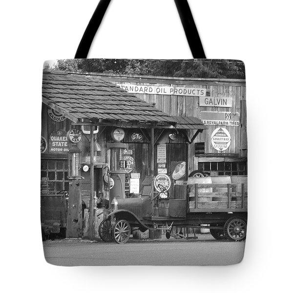 Corner Gas Station Tote Bag