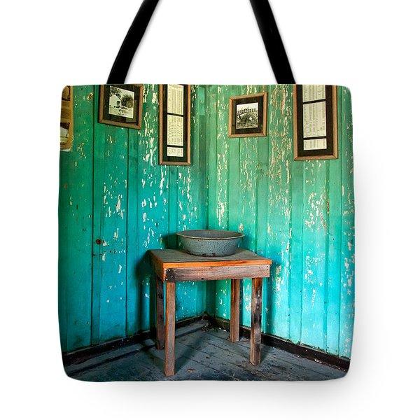 Corner Of Slave Cabin At San Francisco Plantation Tote Bag by Kathleen K Parker