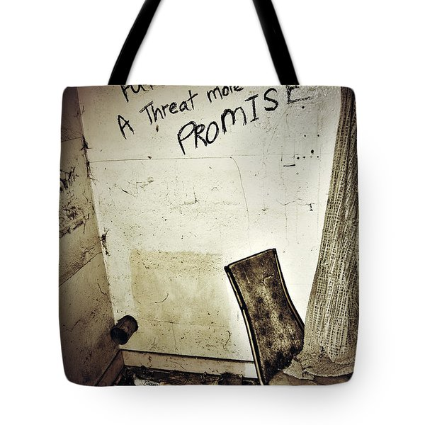Corner Of Threat  Tote Bag by Jerry Cordeiro