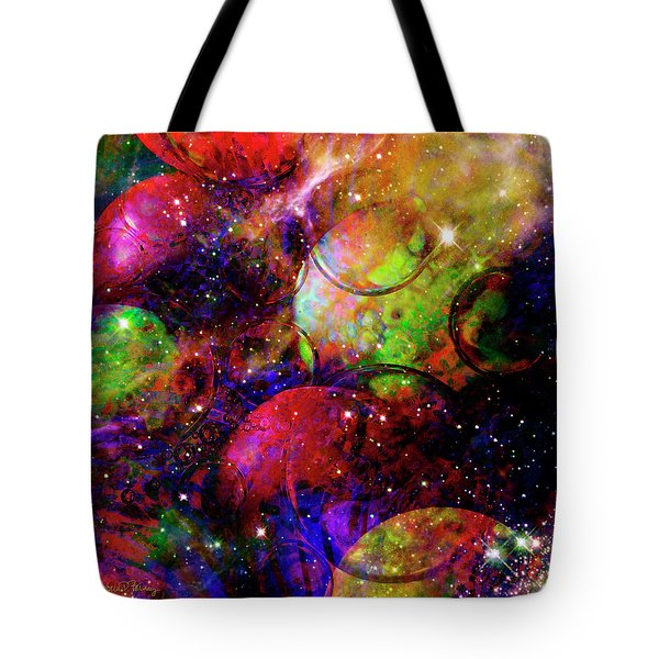 Cosmic Confusion Tote Bag
