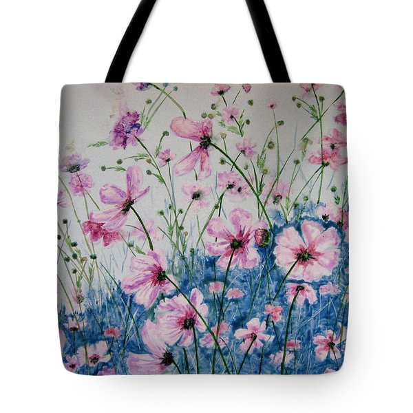 Cosmic Cosmos Tote Bag by Marsha Elliott
