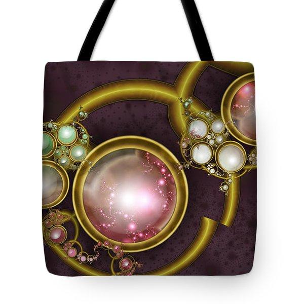Cosmic Crystals Tote Bag