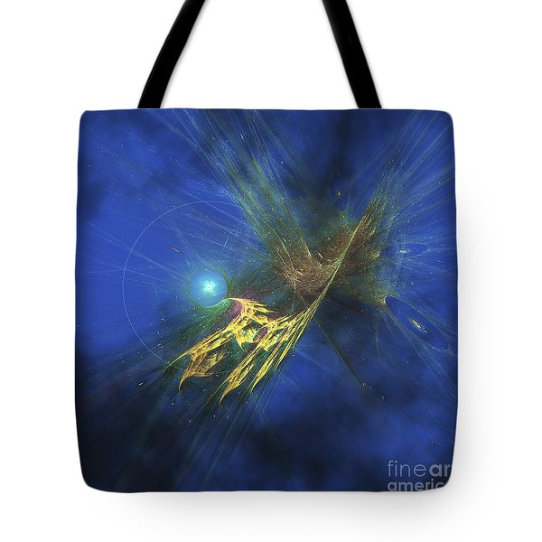 Cosmic Image Of Our Vast Universe Tote Bag