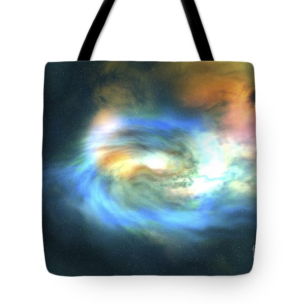 Cosmic Space Image Of The Universe Tote Bag