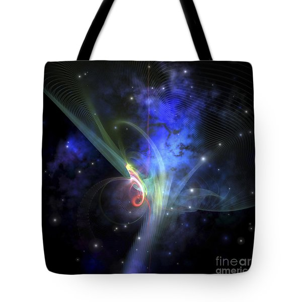 Cosmic Strands Of Gaseous Filament Tote Bag