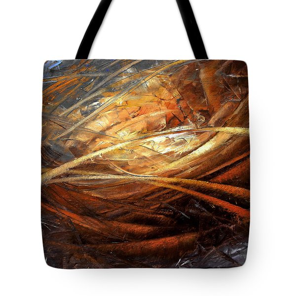 Cosmic Strings Tote Bag by Arthur Braginsky