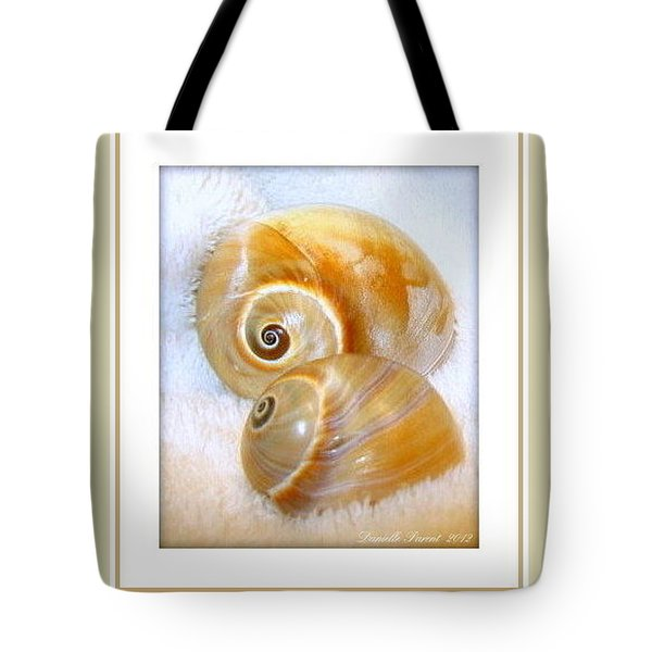 Tote Bag featuring the photograph Cosy Cuddles by Danielle  Parent