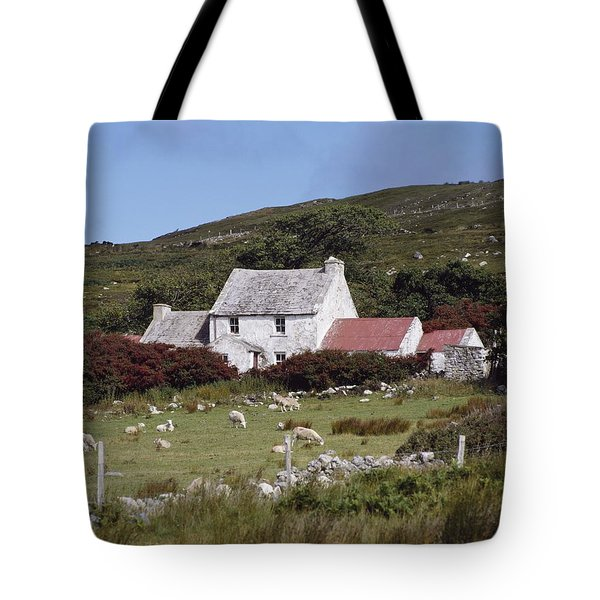 Cottage, Ireland Tote Bag by The Irish Image Collection