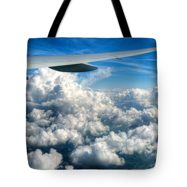 Cotton Balls Tote Bag by Syed Aqueel