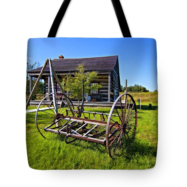 Country Classic Paint Filter Tote Bag by Steve Harrington