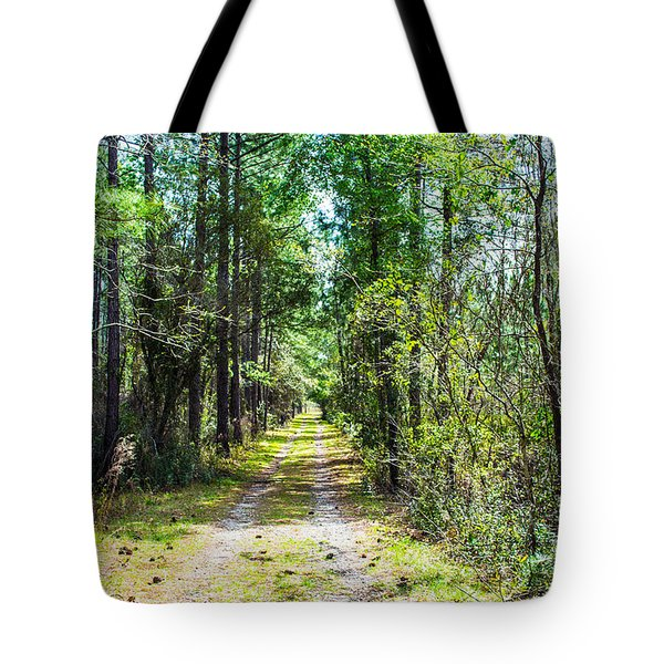 Tote Bag featuring the photograph Country Path by Shannon Harrington