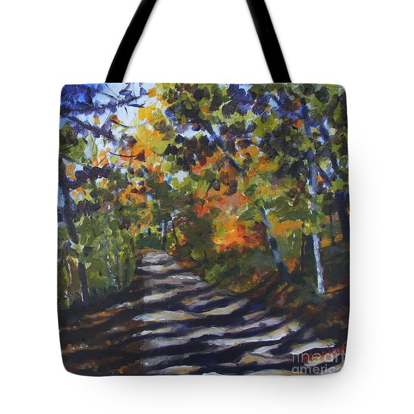 Country Road Tote Bag by Jan Bennicoff