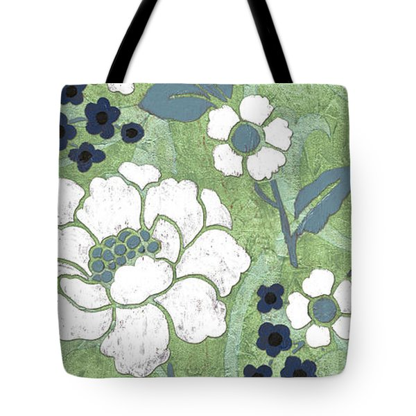 Country Spa Floral 2 Tote Bag