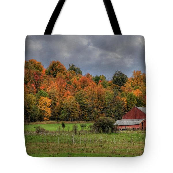Country Time Tote Bag by Lori Deiter