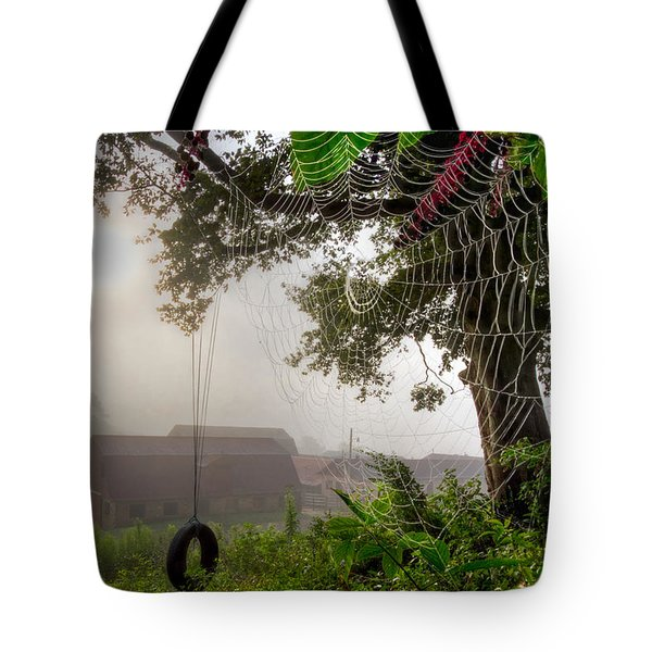 Country Wishes Tote Bag by Debra and Dave Vanderlaan