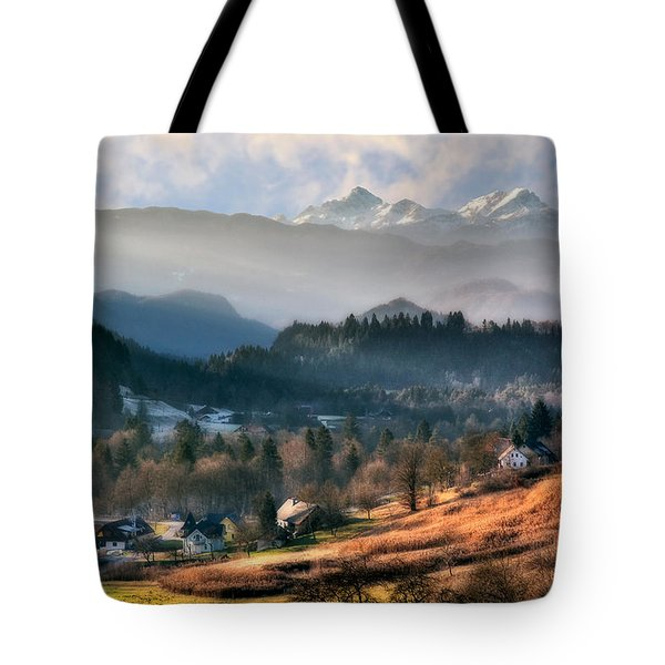 Countryside. Slovenia Tote Bag by Juan Carlos Ferro Duque