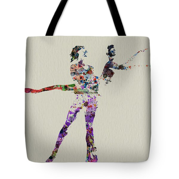 Couple Dancing Tote Bag