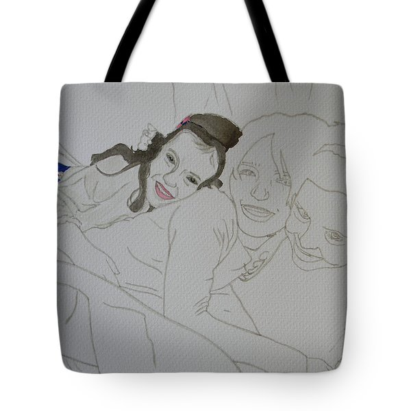 Cousins 3 Of 3 Tote Bag