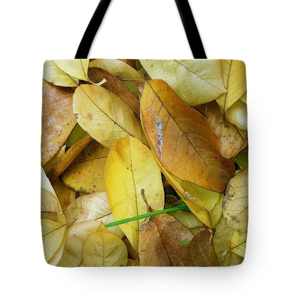 Covering The Green Tote Bag by Trish Hale