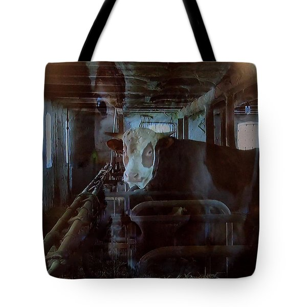 Cow Shelter Indoor Tote Bag by Colette V Hera  Guggenheim