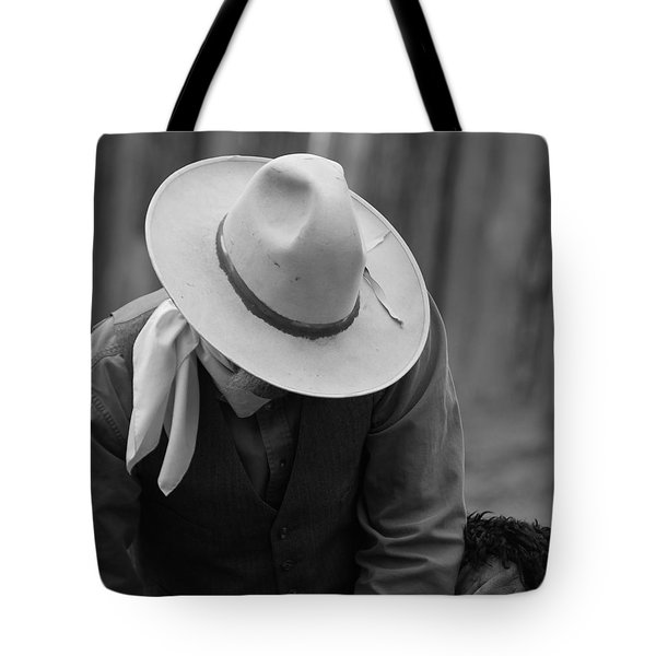 Cowboys Signature Tote Bag by Diane Bohna