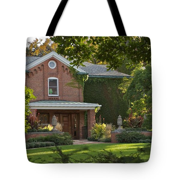 Tote Bag featuring the photograph Cowles House by Joseph Yarbrough