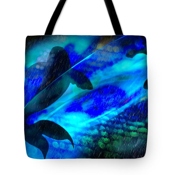 Tote Bag featuring the photograph Coy Koi by Richard Piper