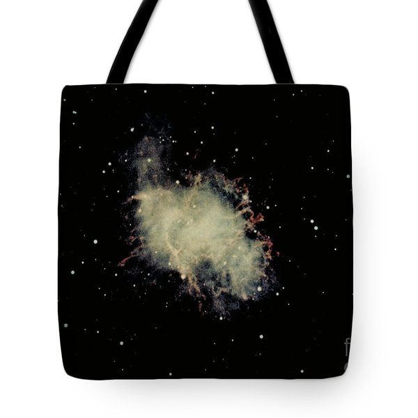 Crab Nebula Tote Bag by Hale Observatories