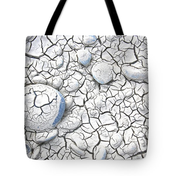 Tote Bag featuring the photograph Cracked Earth by Nareeta Martin