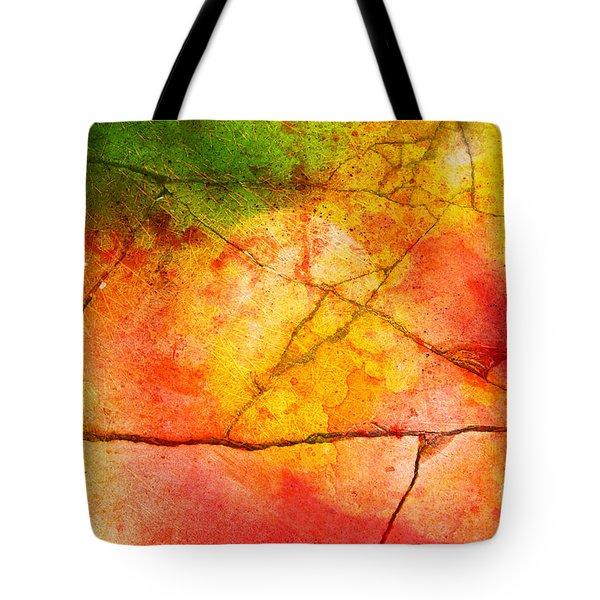 Cracked Kaleidoscope Tote Bag by Silvia Ganora