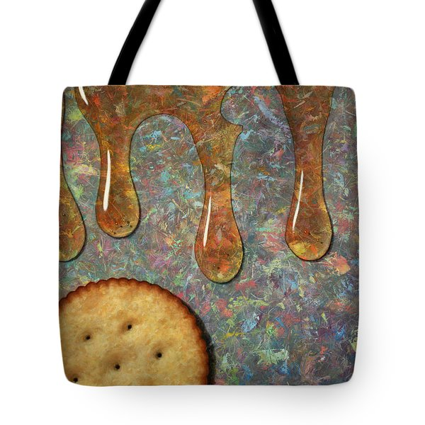 Cracker Honey Tote Bag by James W Johnson