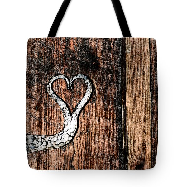 Tote Bag featuring the photograph Crafted Heart by Michelle Joseph-Long