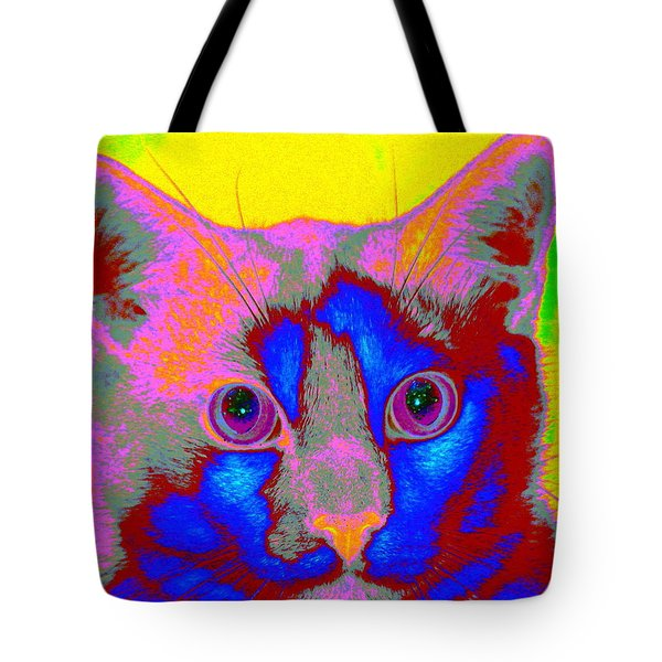Crayola Cat Tote Bag