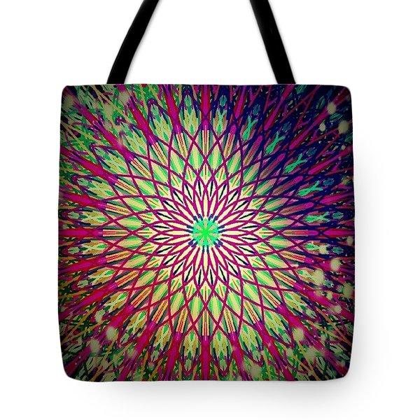 Crazy Days Mandala Tote Bag