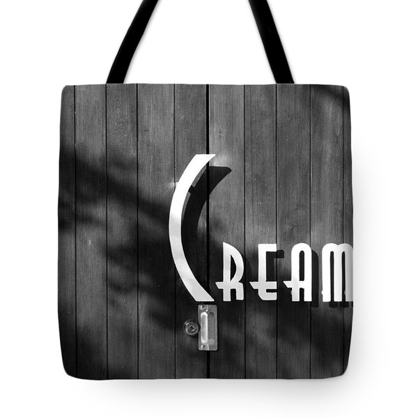 Cream Tote Bag by Jeannette Hunt