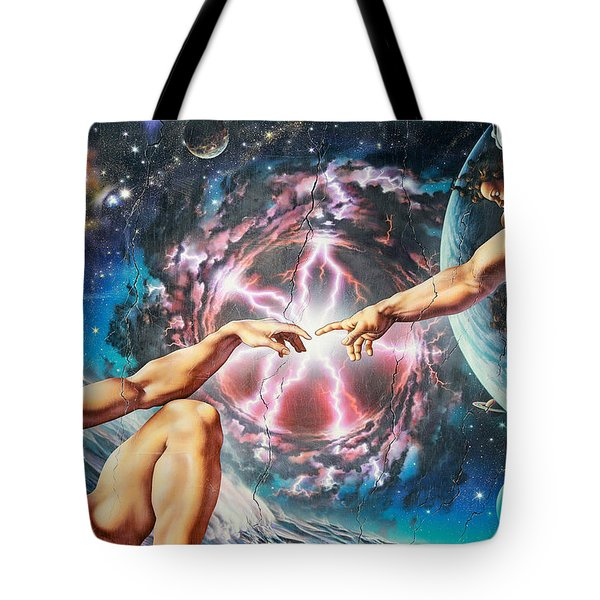 Creation Tote Bag by Adrian Chesterman